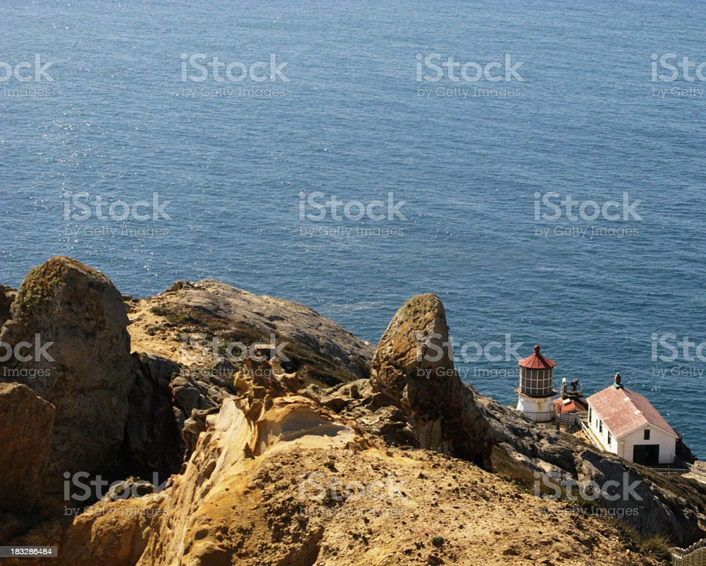 Point Reyes Lighthouse Marin County California stock photo