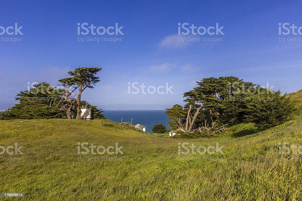 Point Reyes National seashore in California royalty-free stock photo
