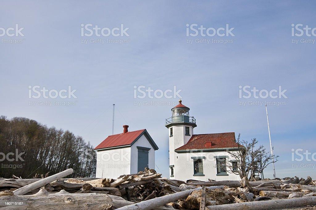 Point Robinson Lighthouse royalty-free stock photo