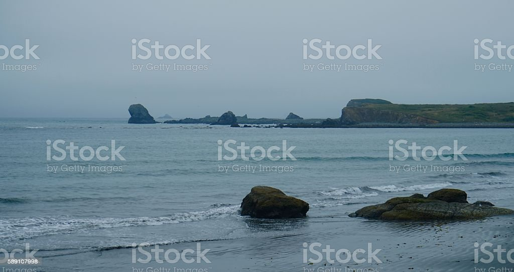 Point St. George stock photo