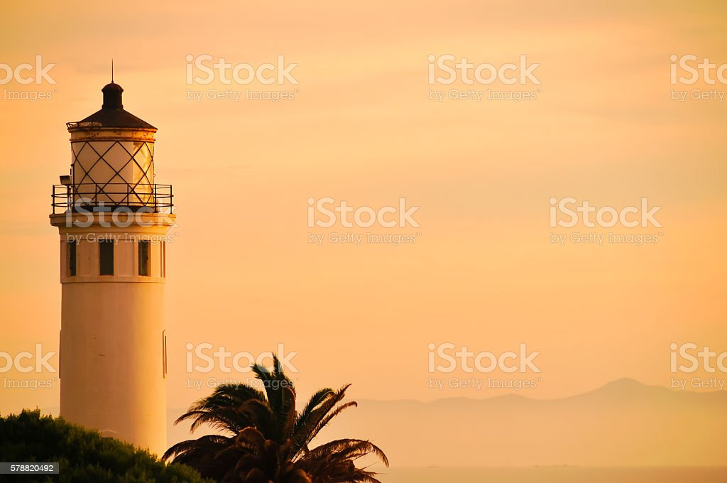 Point Vicente stock photo
