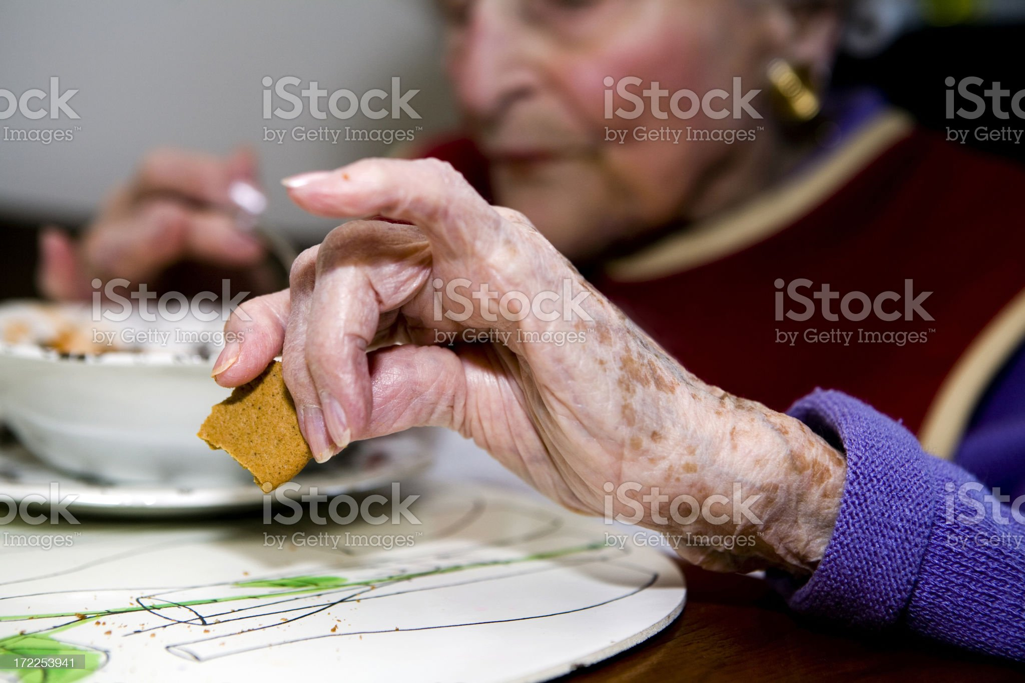 Point Your Pinky royalty-free stock photo