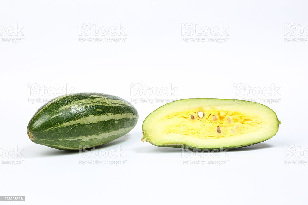 pointed gourd potol stock photo