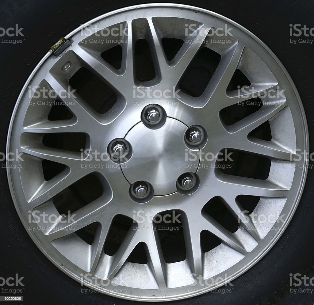 Pointed Rim stock photo