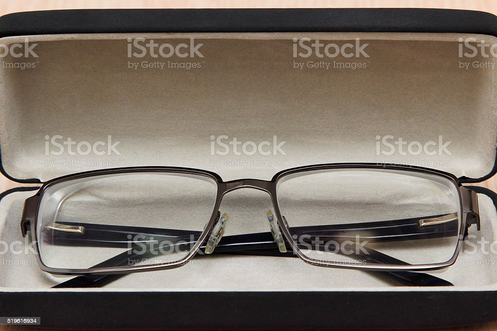 Points in the case. stock photo