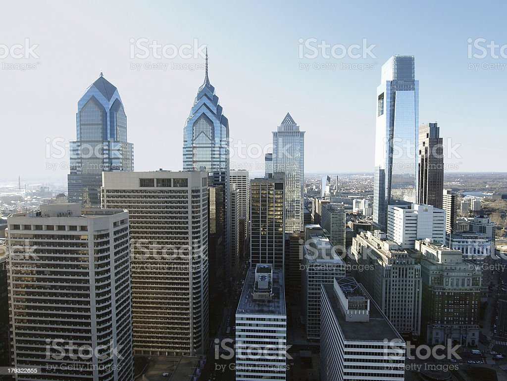 Pointy Towers stock photo