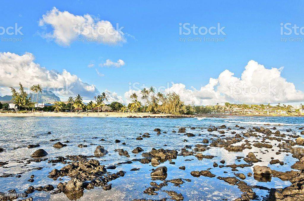 Poipu Beach Park, Kauai, Hawaii, USA stock photo