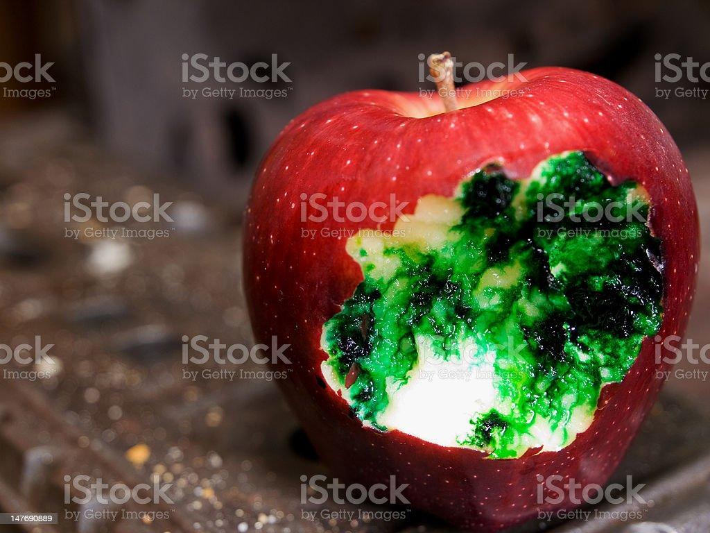 Poison Apple stock photo