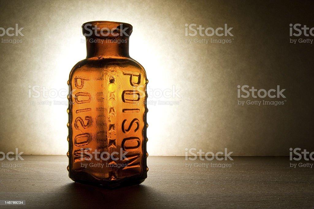 Poison Bottle royalty-free stock photo