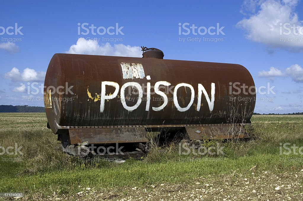 Poison. royalty-free stock photo