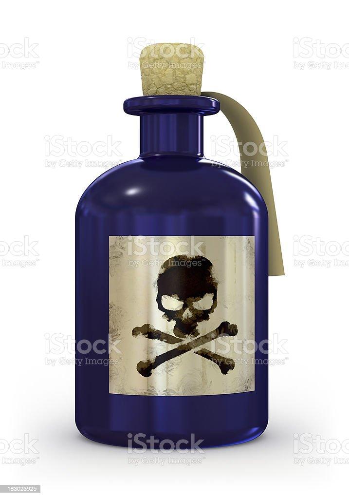 Poison royalty-free stock photo