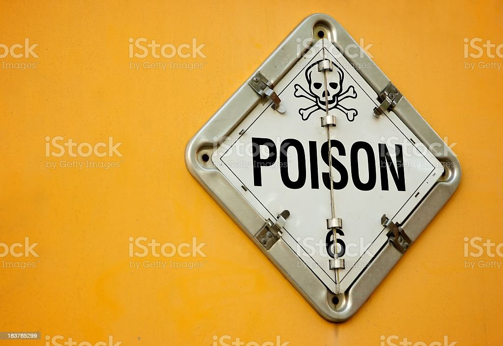 Poison stock photo
