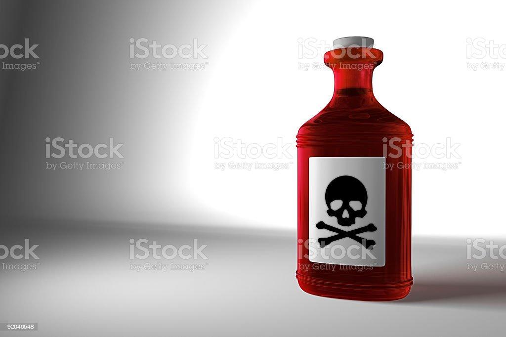 Poison stock photo