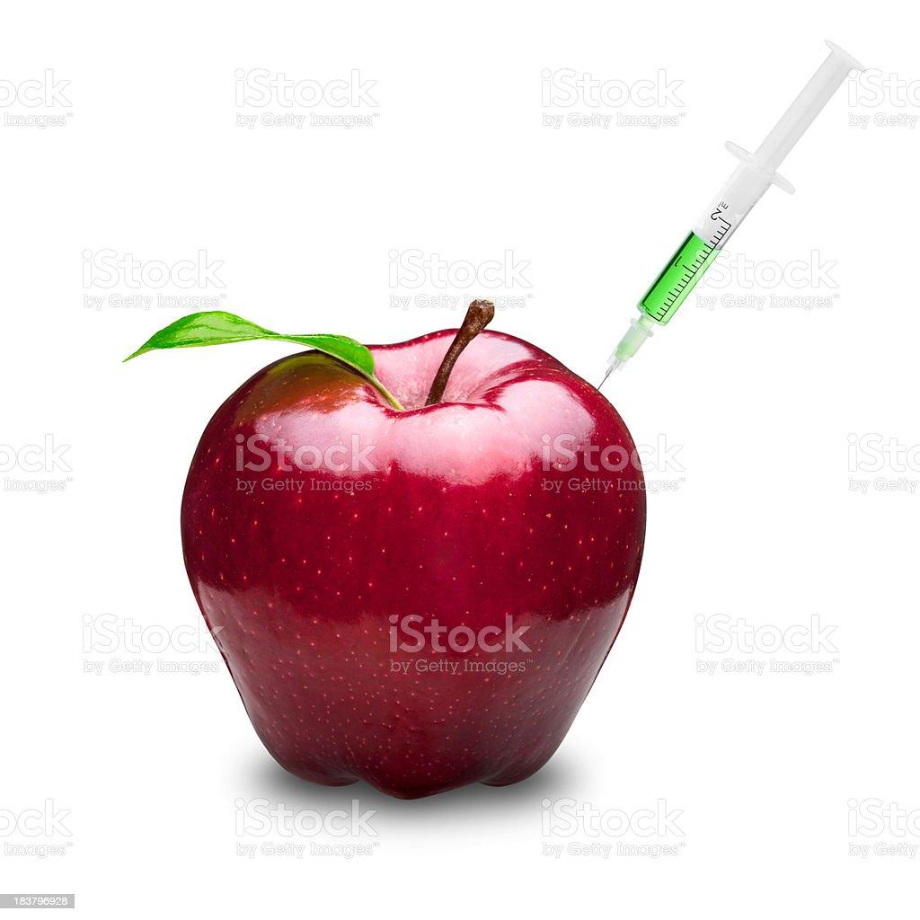 Poisonous Apple royalty-free stock photo