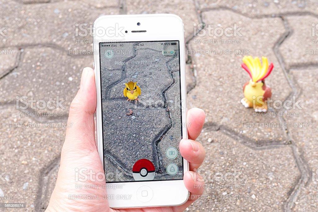 Pokemon - Bird stock photo