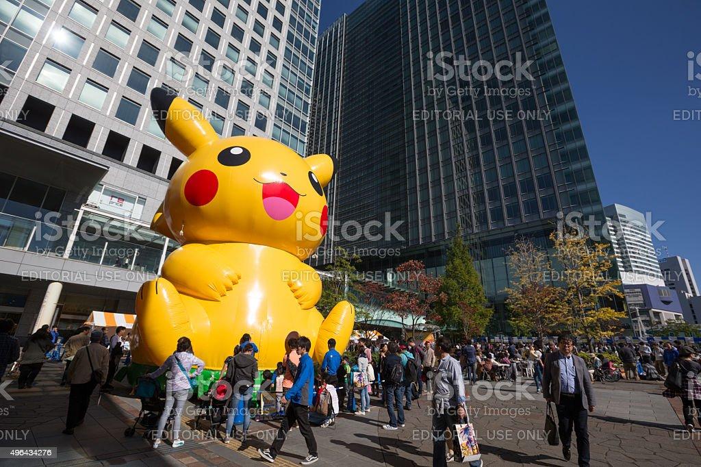 Pokemon in Tokyo, Japan stock photo