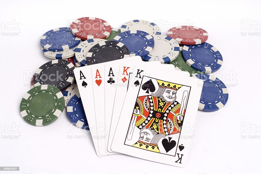 Poker 035 stock photo