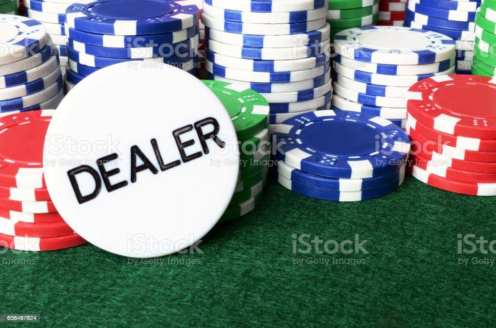 Poker Chip Background stock photo