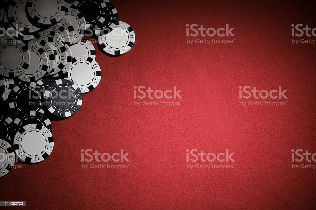 Poker Chips... royalty-free stock photo