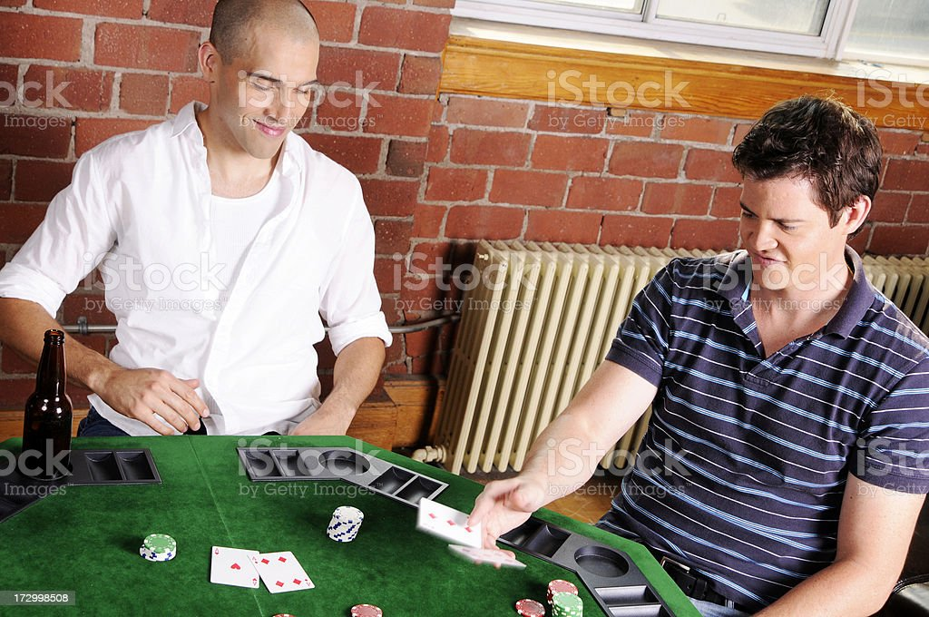 Poker Game Series: The Fold royalty-free stock photo