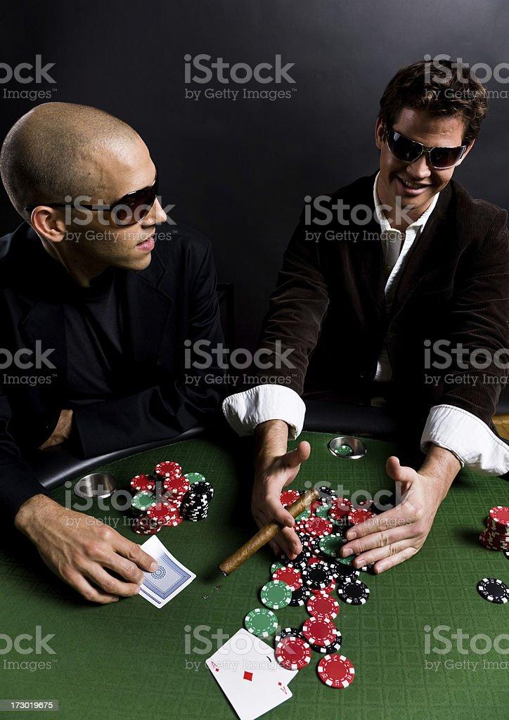 Poker game - winner royalty-free stock photo