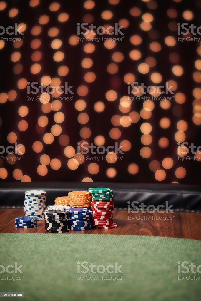 Poker is waiting for you stock photo