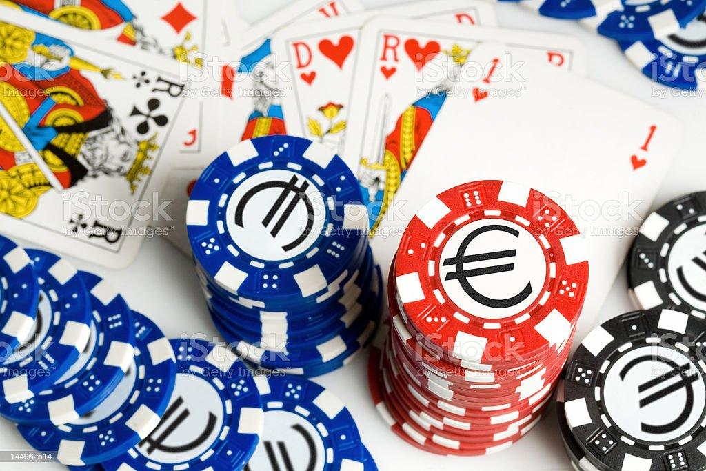 Poker #2 stock photo