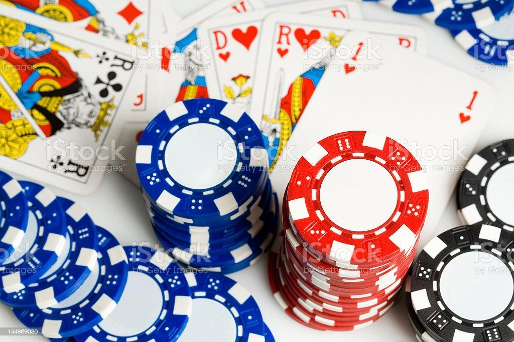 Poker #1 stock photo
