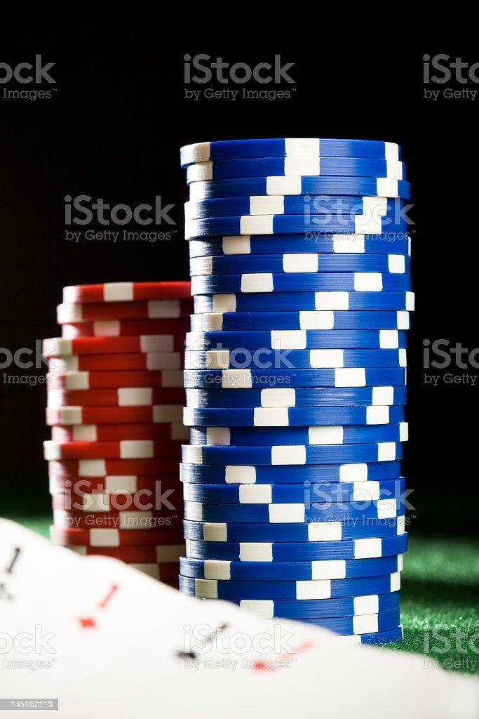 Poker #4 stock photo