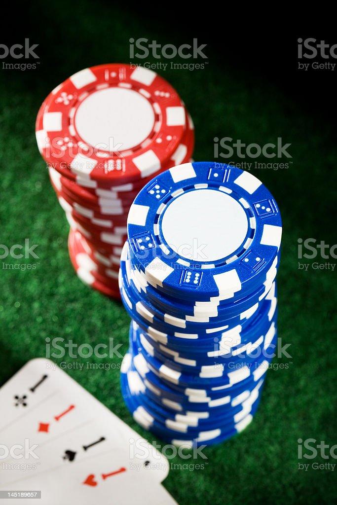 Poker #7 stock photo