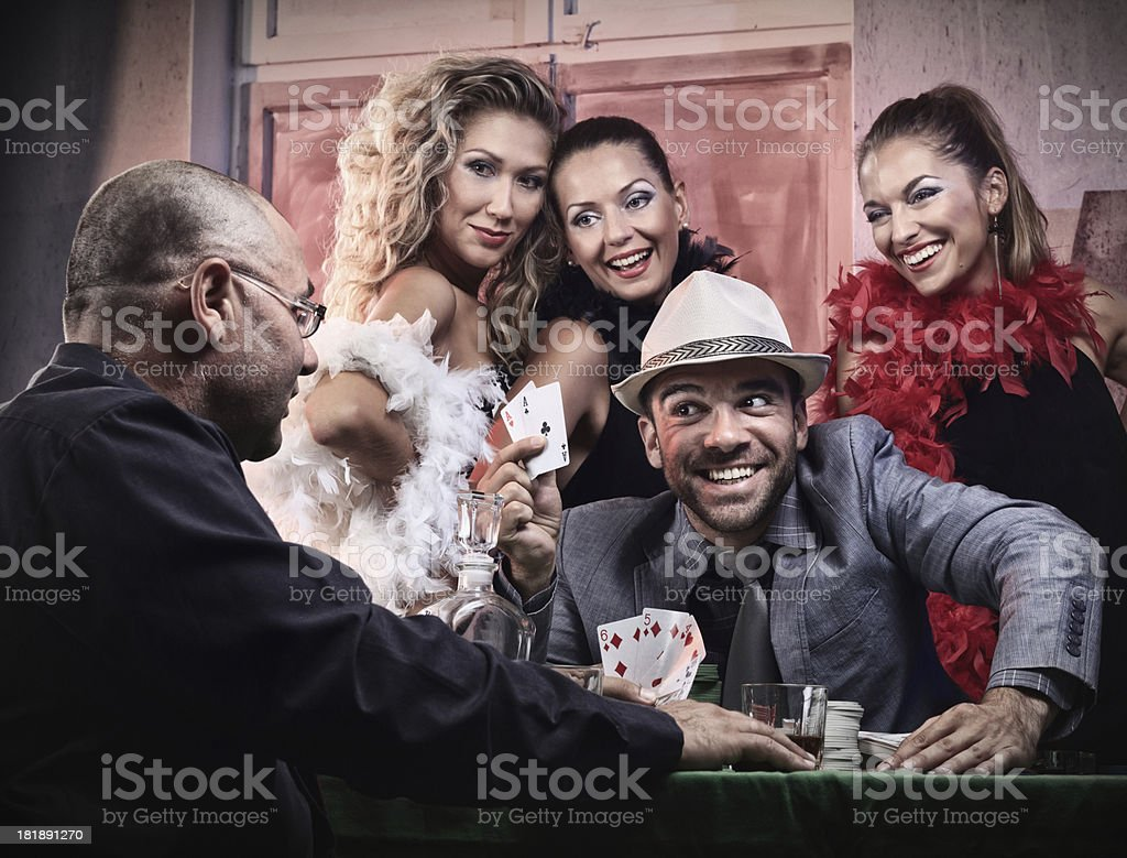 Poker royalty-free stock photo