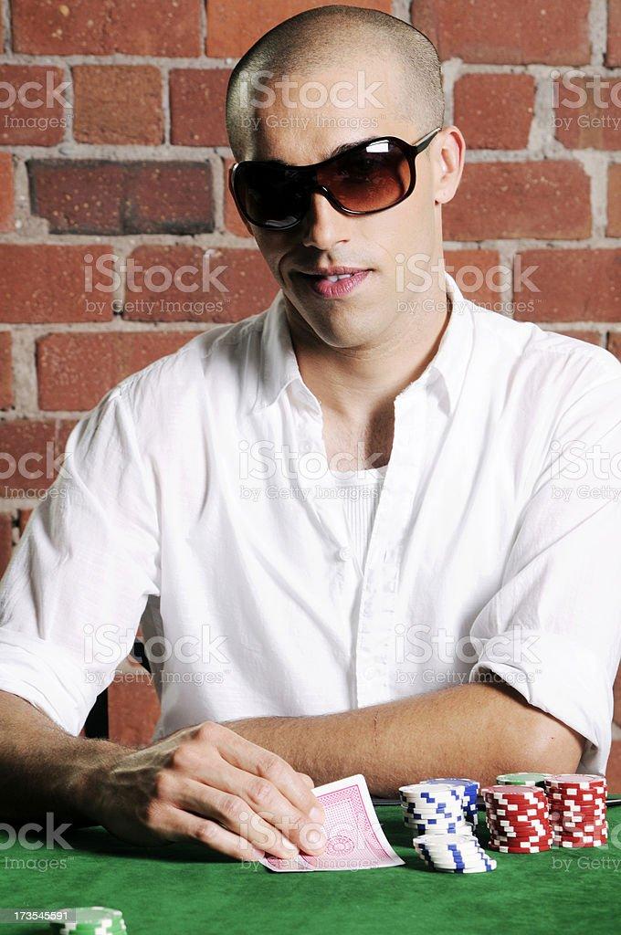 Poker Portrait royalty-free stock photo