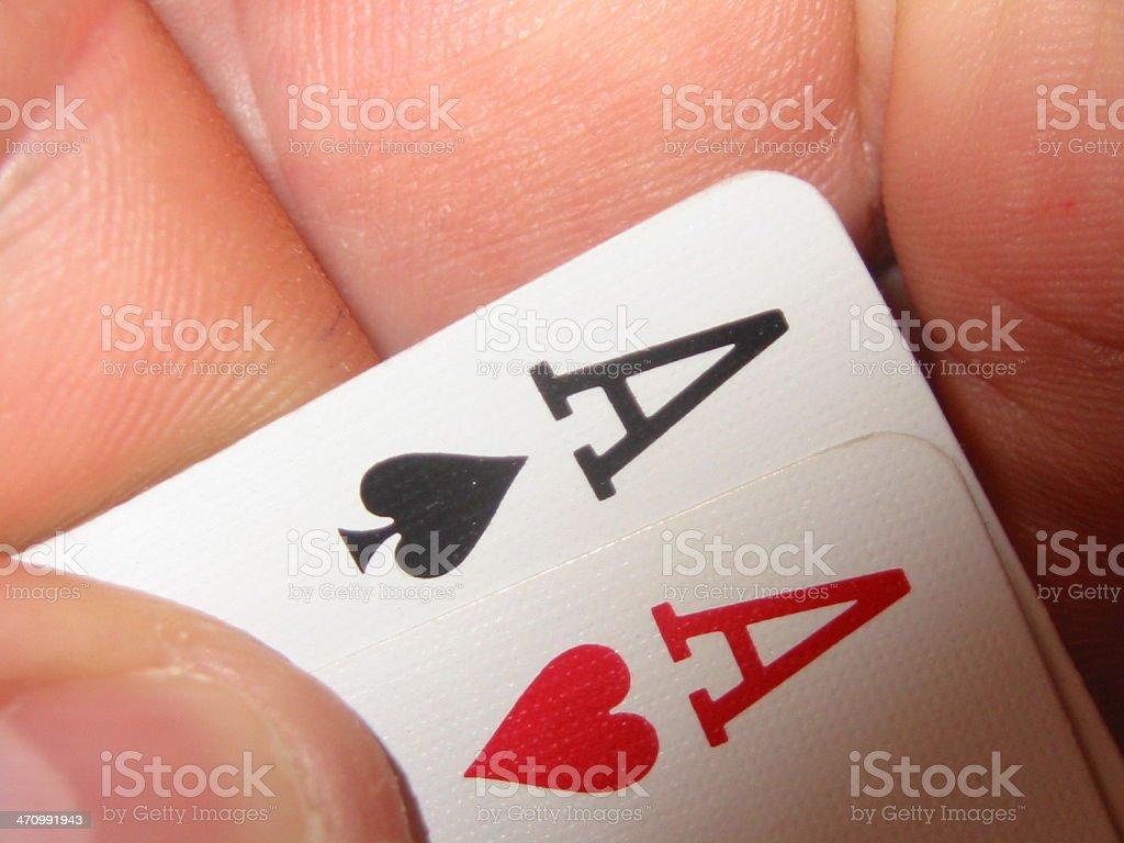 Poker Texas Holdem royalty-free stock photo