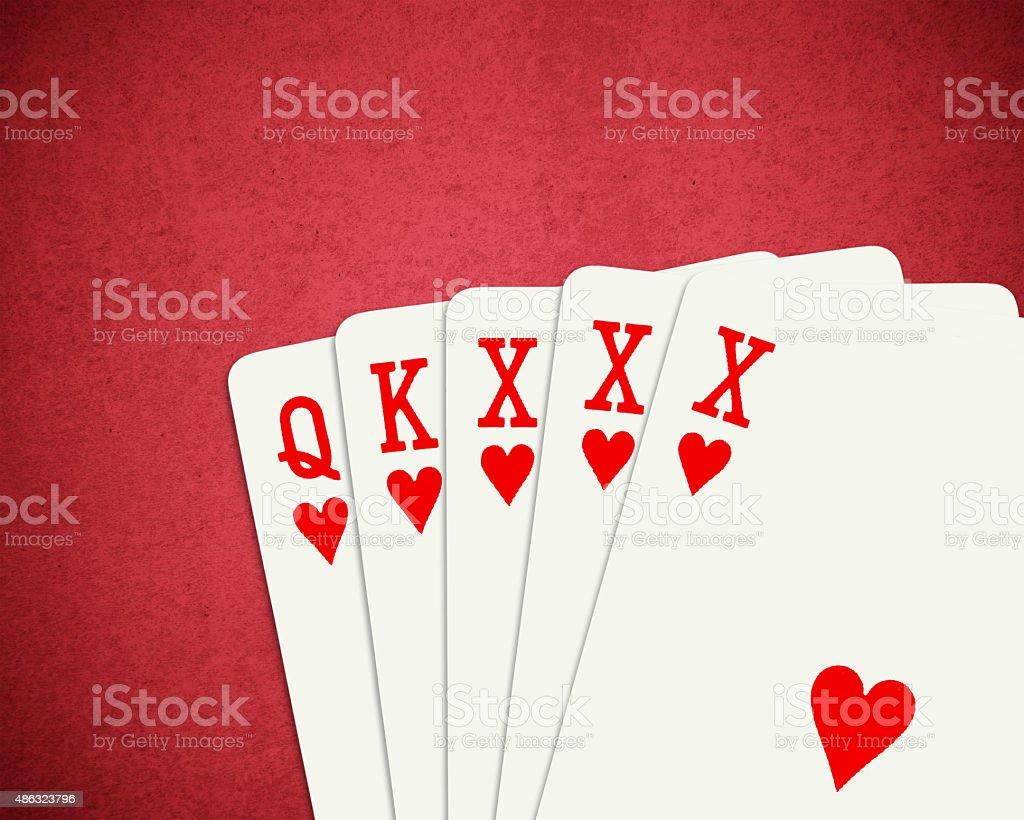 Poker XXX stock photo