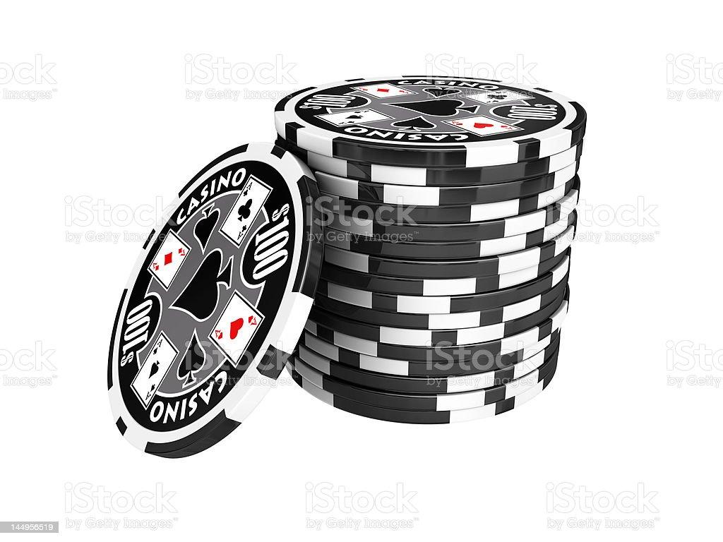 pokerchips royalty-free stock photo