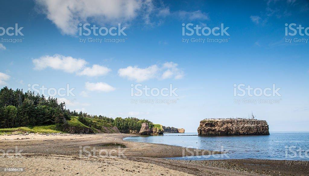 Pokeshaw Beach stock photo