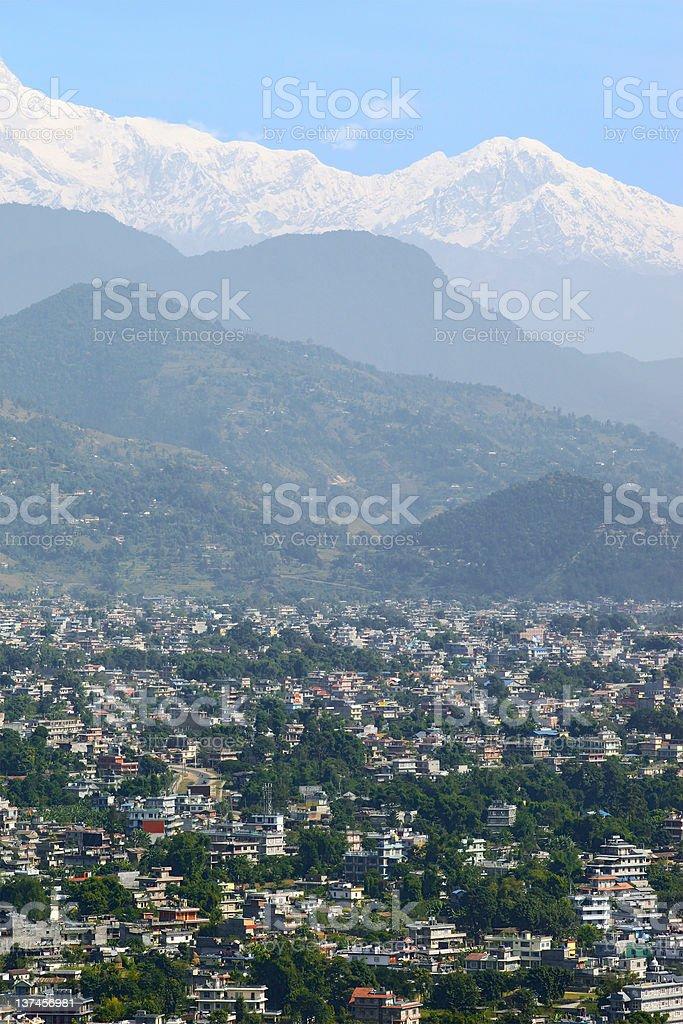 Pokhara, Nepal royalty-free stock photo