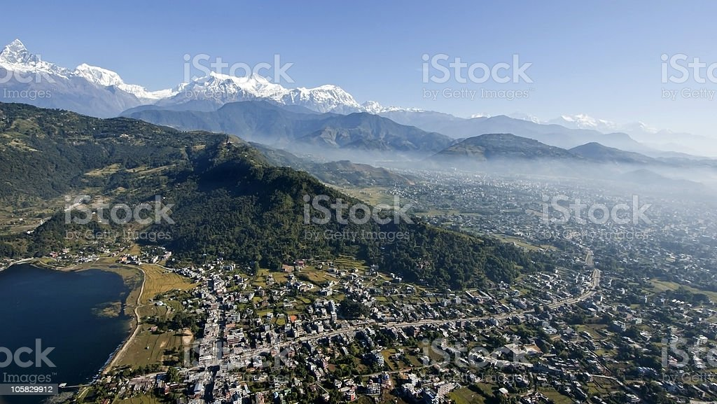 Pokhara stock photo