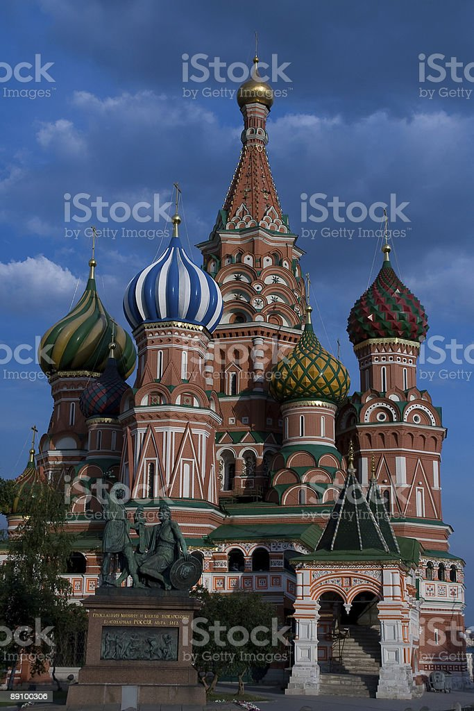Pokrovsky church royalty-free stock photo