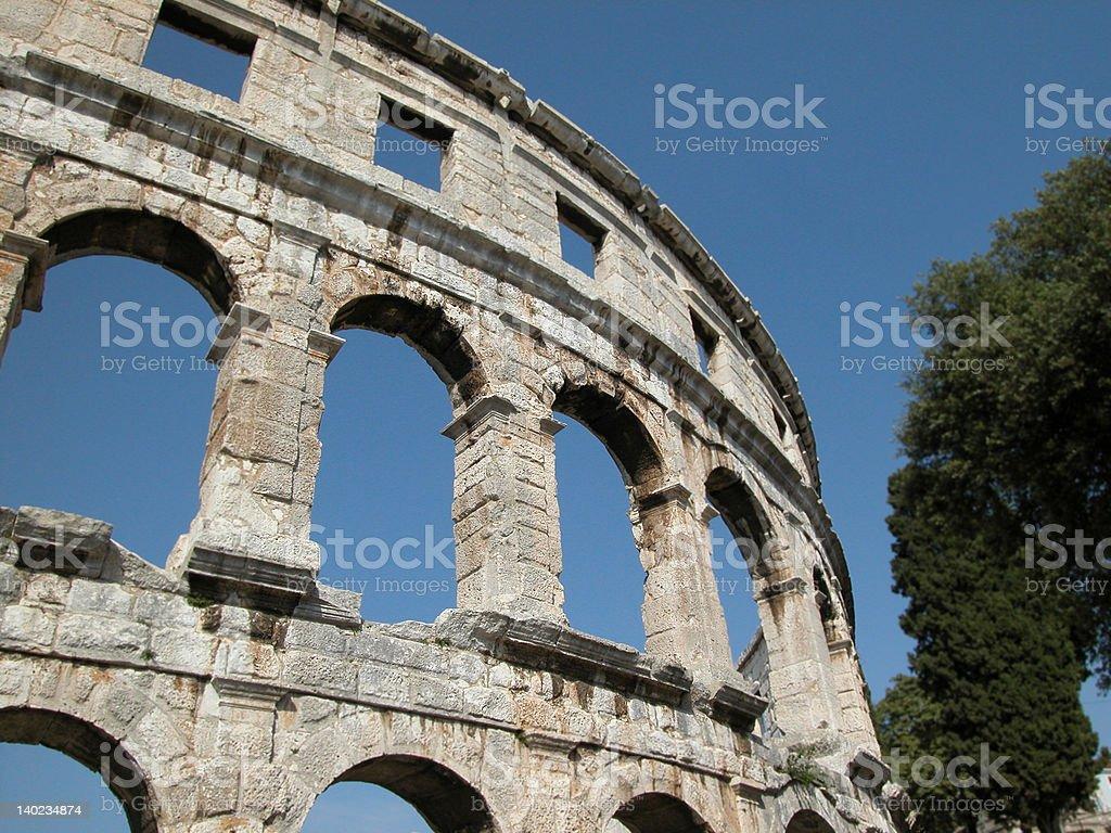 Pola amphitheatre royalty-free stock photo