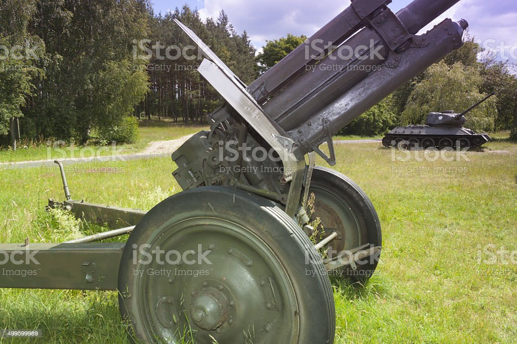 Poland, Zachodniopomorskie, Zdbice, Military Gear Open Air Museum stock photo
