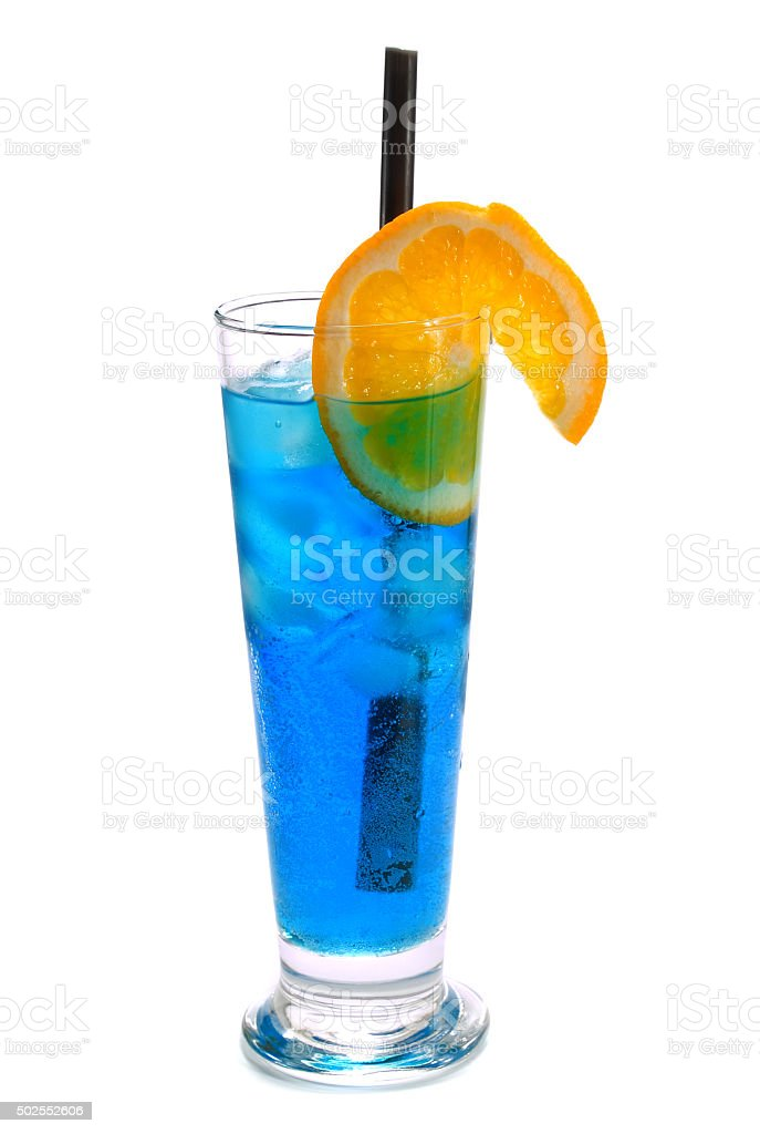 Polar Bear cocktail stock photo
