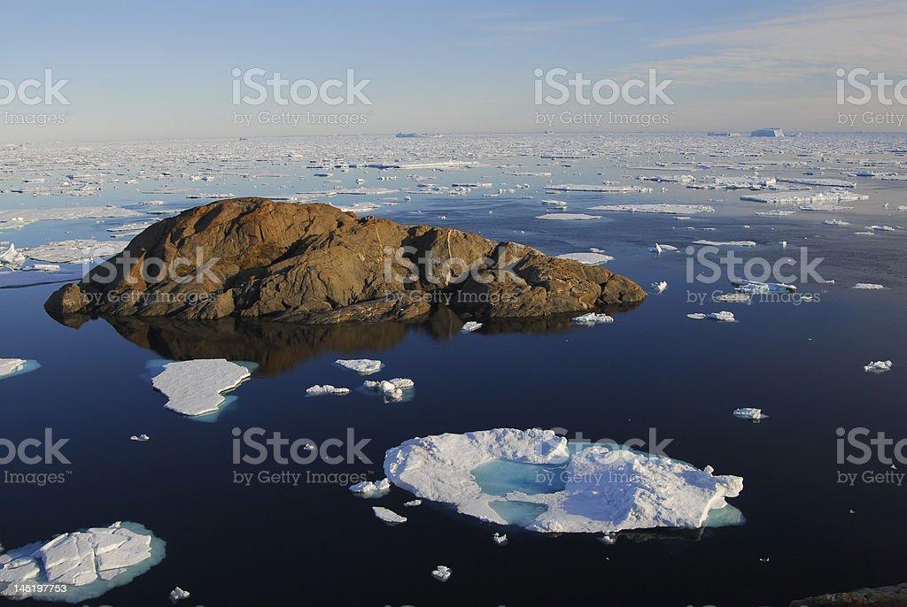 Polar Stream stock photo