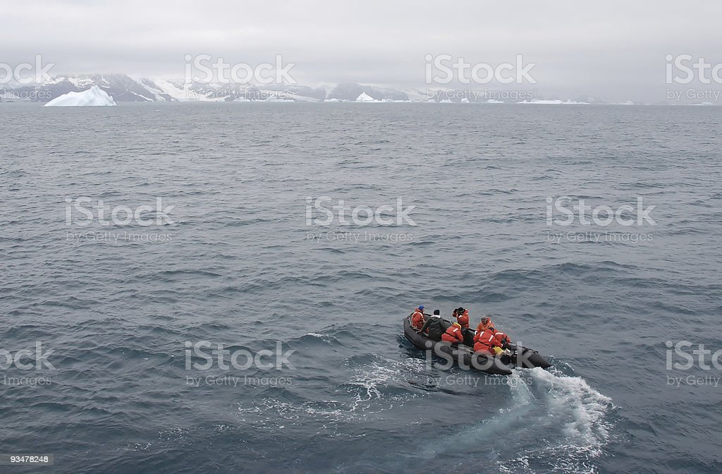 Polar Tourism royalty-free stock photo