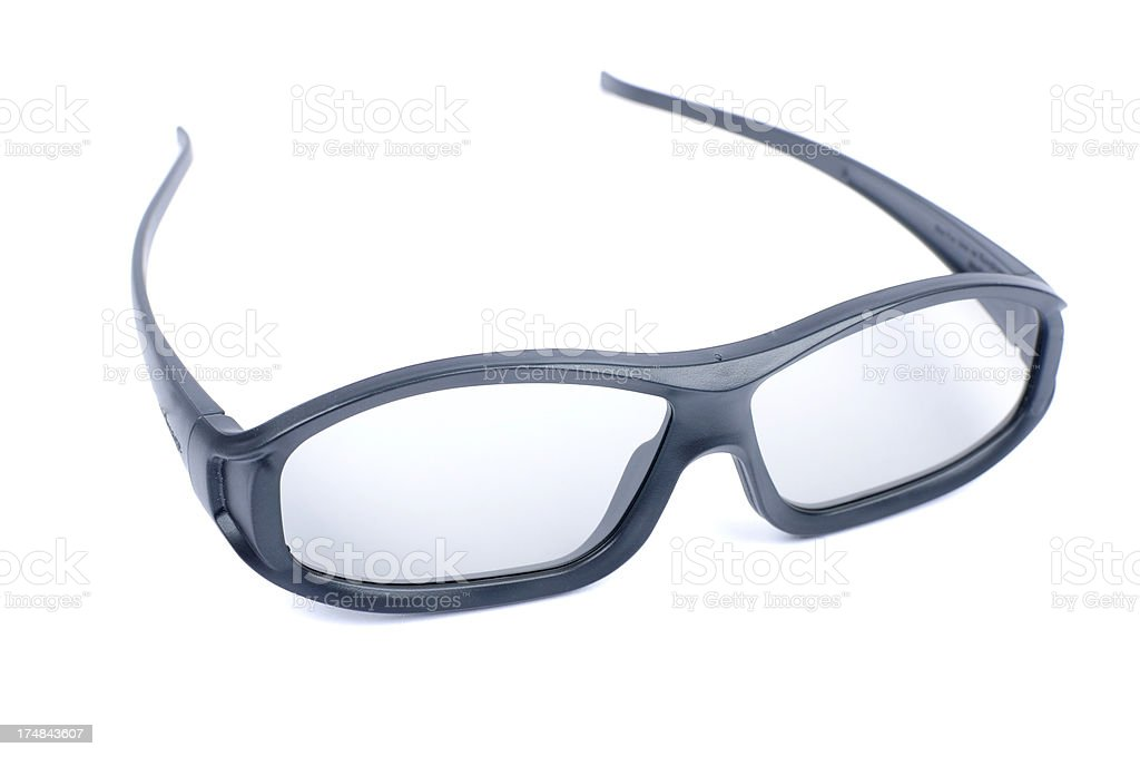Polarized 3D Cinema Glasses royalty-free stock photo