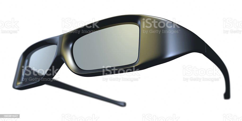 Polarized 3D Glasses. royalty-free stock photo