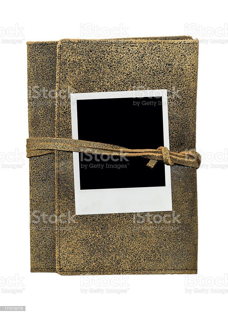 Polaroid and Journal XXL stock photo