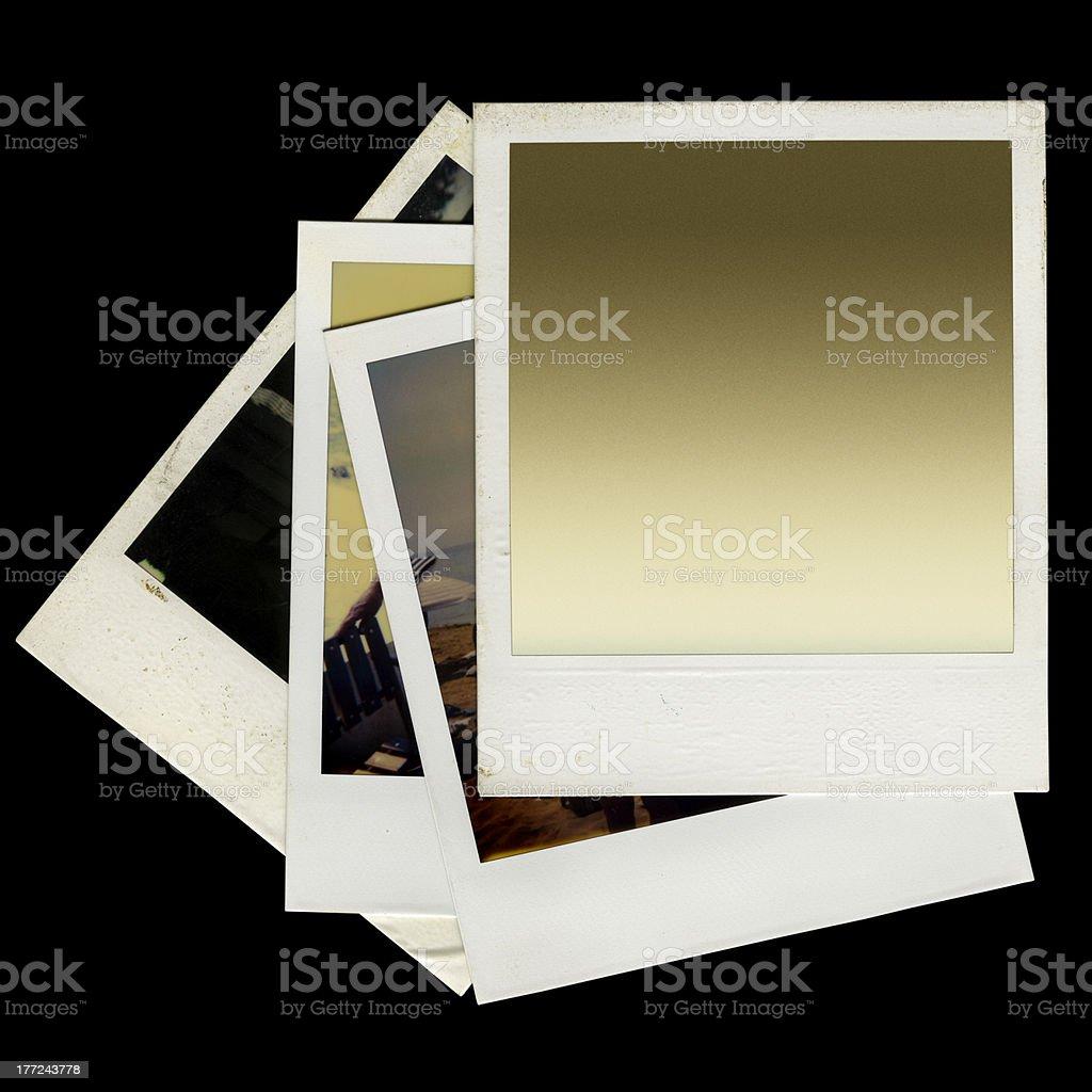 Polaroid Composition royalty-free stock photo