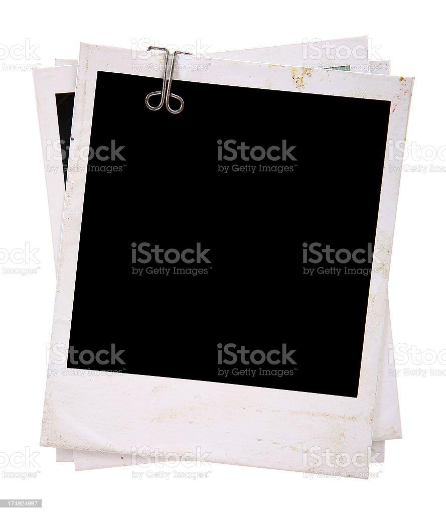 Polaroid Frames royalty-free stock photo