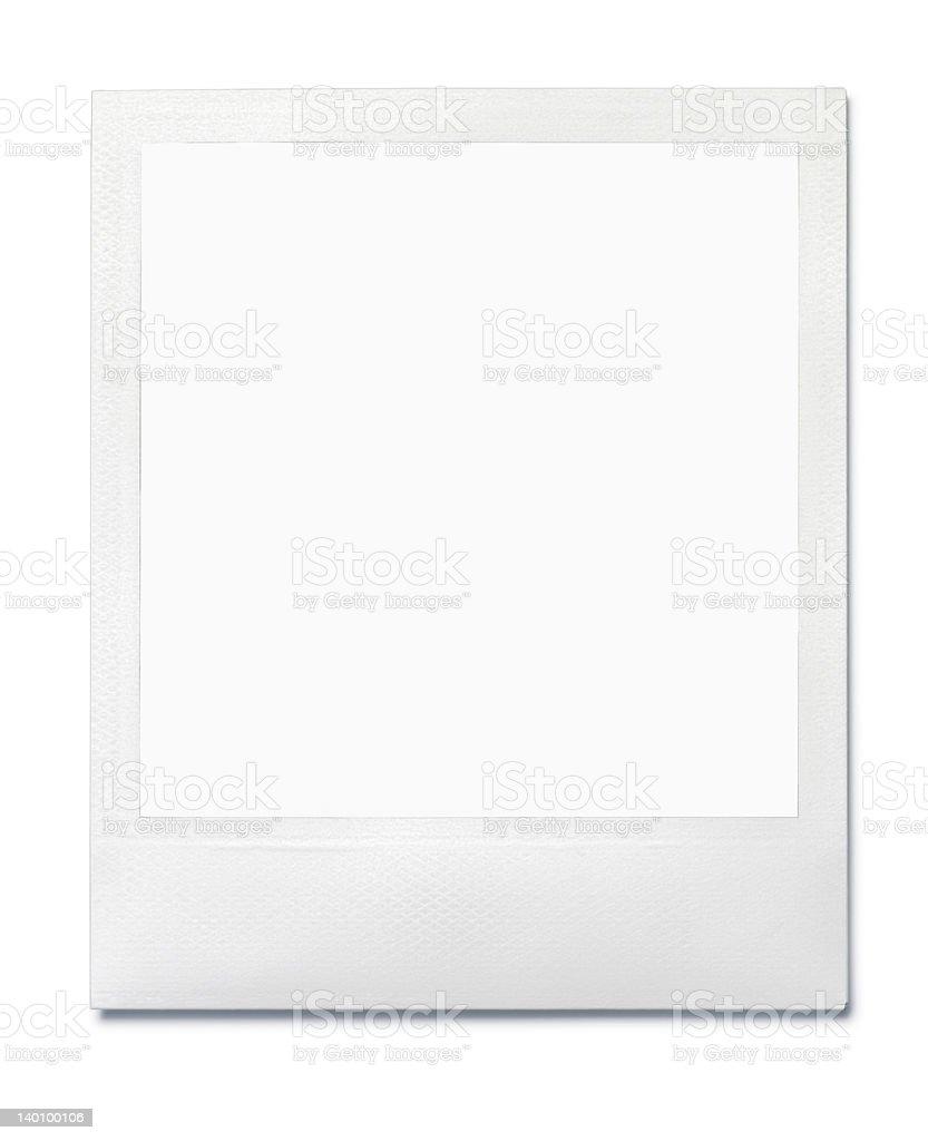 Polaroid SX70 stock photo